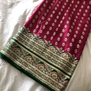 Other - Pink and Green Sari